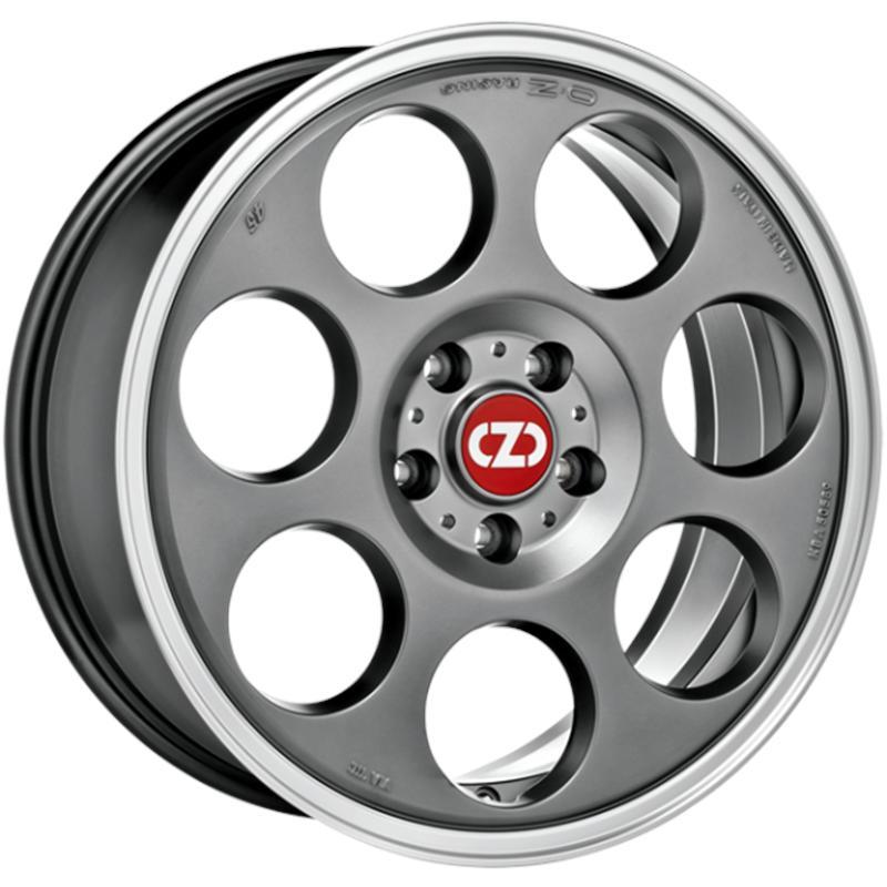 OZ RACING ANNIVERSARY 45 MATT TITANIUM TECH DIAMOND LIP