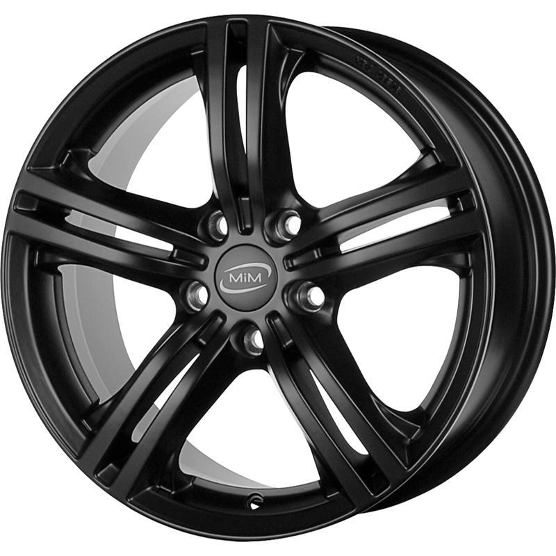 MILANO EVO FLAT BLACK 5 foriMercedes Benz Slk 2011