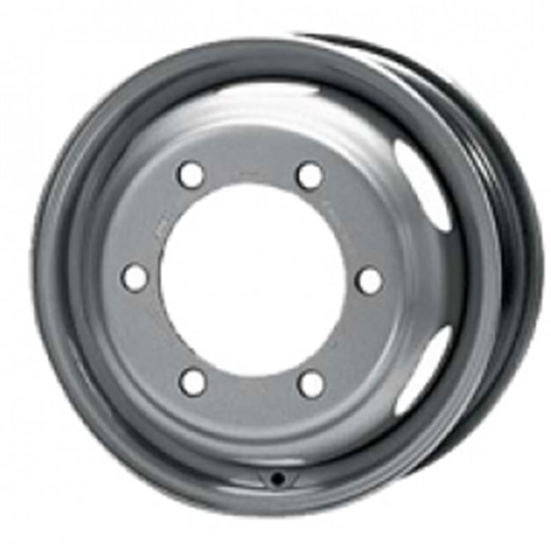kfz alcar Sprinter per pneum gemellati 6 fori SILVER