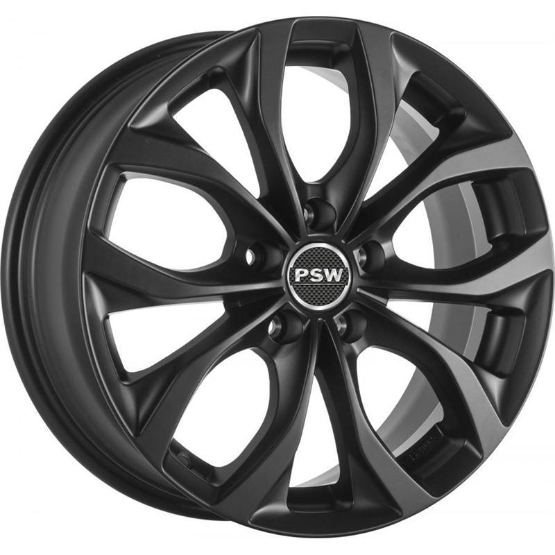 VILLENEUVE MATT BLACK 5 foriMercedes Benz Gl-Klass 2012