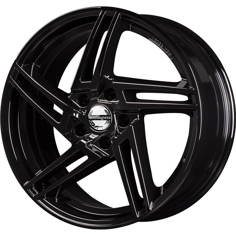 TM001 GLOSSY BLACK 5 foriMercedes Benz Vito